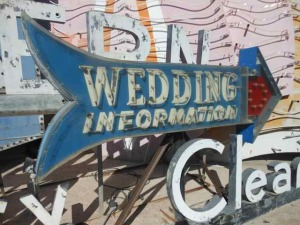 VegasWeddingSign